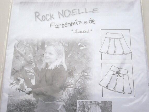 Farbenmix - Noelle Pattern - German - Sizes 86-152 - sewing pattern only