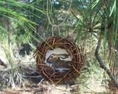 Miniature Original Painting- Forest Friends Ornament- Hare