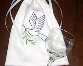 Mazel Tov Bag-Groom's Glass Bag