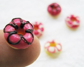 Miniature flower doughnuts 5 pcs.