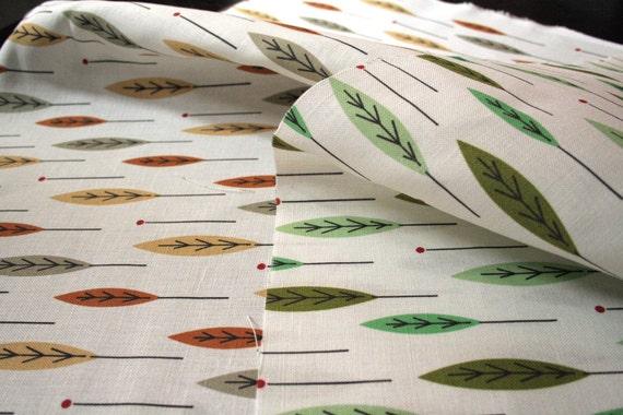 Walk Through The Woods - Linen Cotton Blend Fabric - Original Design