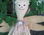 Sweet Dreams Fairy Shabby Doll with Wings