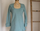 long sleeved linen tunic