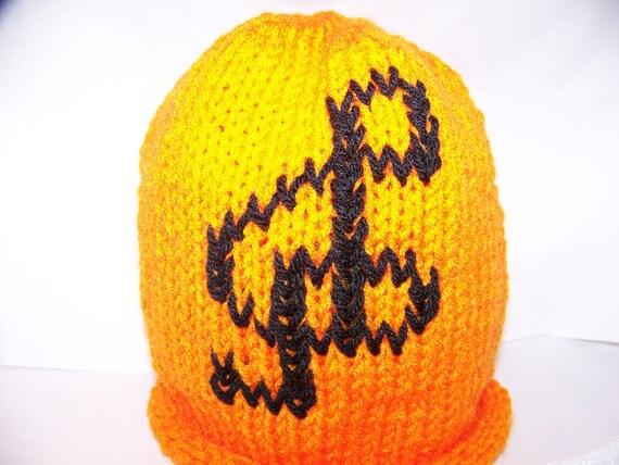 Lets Make Music G - Clef orange hat