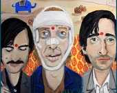 Ode to Darjeeling Limited ... limited edition print ... number 3 of 50