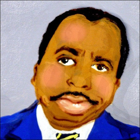 Ode to Stanley from The Office US version elloh fine art 5 x 7 print portrait