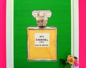 LUXE FUME CHANEL No 5 Print