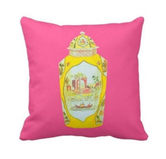 ROYAL WORCESTER JAR Pillow - Pink