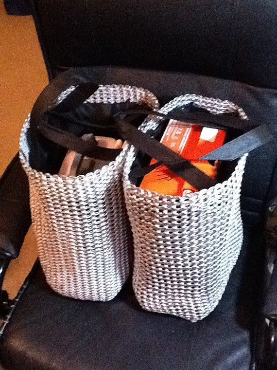 Two Giant Pull Tab Grocery Bags - Reserved for Marjorie (rjcrazyone)