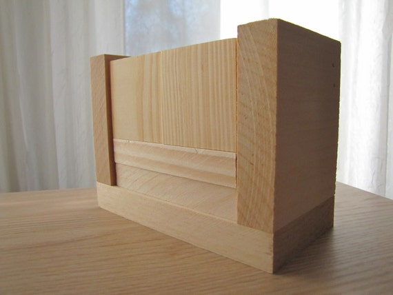 Blank Perpetual Wooden Block Calendar - Month and Day - Nekkid Wood