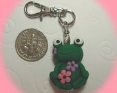 FROG Charmer - Handsculpted Froggy from My Bead Garden