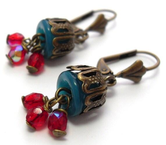 RESERVED Caravan Earrings
