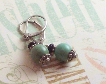Turquoise Earrings - Cutest Little Earbobs