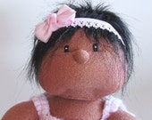 13 inch Newborn Soft Baby doll Africian American Hispanic Esperosa