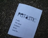 Petastic Pets that are fantastic Micro mini zine