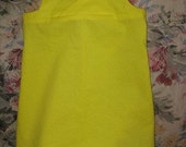 Yellow 2T Toddler Dress