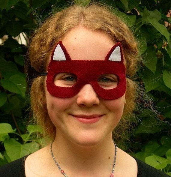 Fox,  Felt  Mask