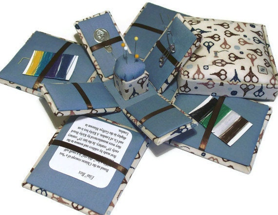 HandCrafted Etui Needlework Sewing Notions