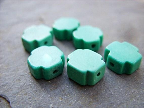 B-2864 - Tiny Turquoise Crosses