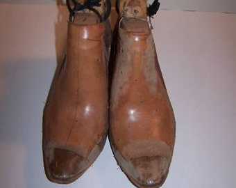 Supplies Shoe making Heels Shoe Last Costume Cowboy Boot SZ US 11W 9M Darkwear Clothing  Destash