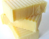 Lemon Sugar Soap with Avocado Oil and Shea Butter