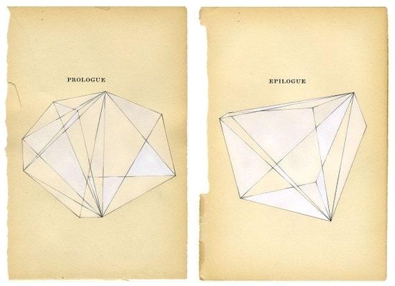 prologue - epilogue (pair of standard size prints)