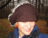 wool hat with lots of room-Super Sale-