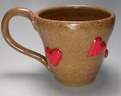 Heart and Love Stoneware Mug