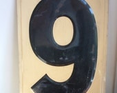 Large Vintage number 9 or 6