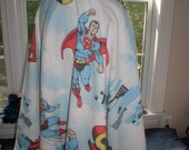 DESPERATE FOR A HANDMADE SUPERMAN PRINT SKIRT