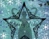 Yule Goddess Card