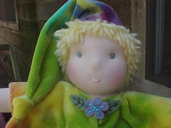 """Weighted Baby Bunting Waldorf Doll, 12 or 16"""""""