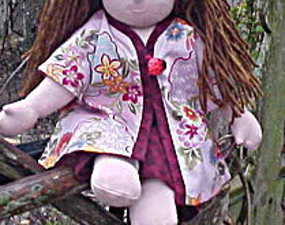 Waldorf Doll Kimono Outfit - made in Your Choice of Color, Style and Size