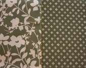 Home Decor Fabric 4 yards of coordinating fabic, Sage Green Floral