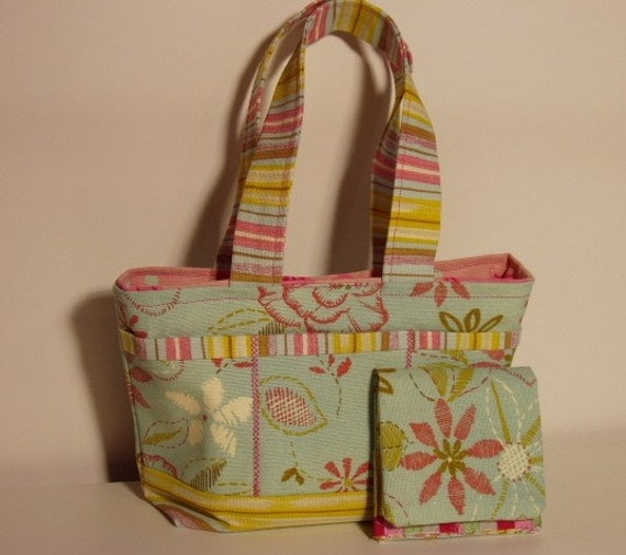 Courtney Mini Tote . . . MADE TO ORDER
