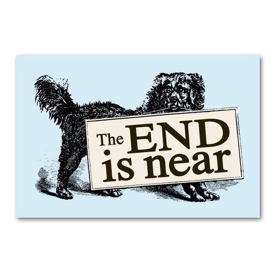 Dog Prophecy postcard