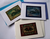6 deluxe Christmas cards