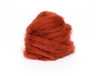 1oz. 1 oz. Corriedale Wool Roving for Felting - 1 oz. Corriedale - Nutmeg