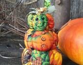 SALE! Little Pumpkin stack man