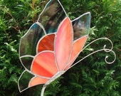 Monarch Butterfly Garden Stake