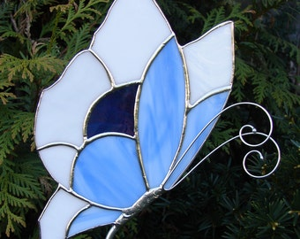 So Blue Butterfly Garden Stake