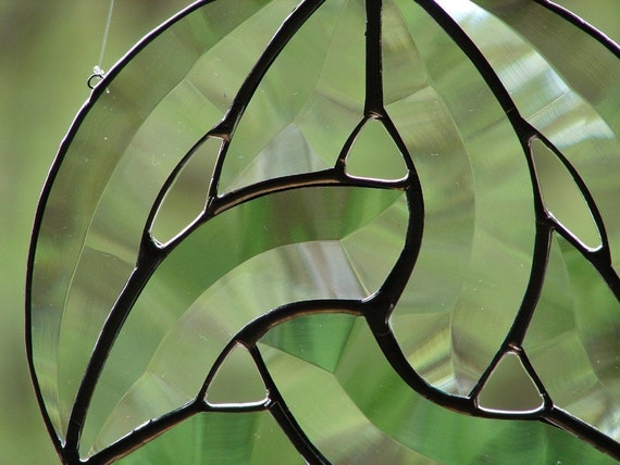 Beveled Glass Celtic Knot