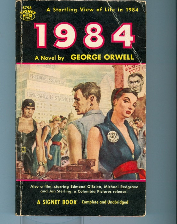 rebellion against authority in 1984 a novel by george orwell But he secretly hates the party and dreams of rebellion against big the song 1984 based on orwell's novel george orwell's dystopian novel.