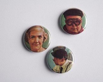 Funny Face Buttons