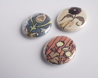 Russian Floral Buttons