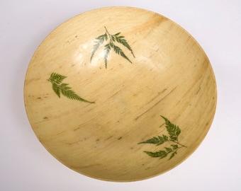 Fiberglass Fern Bowl