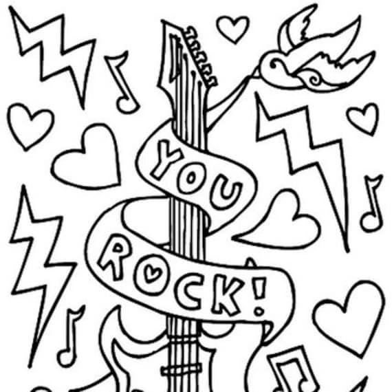 Coolmompicks' Color-Your-Own Valentine's Day Card PDF Download