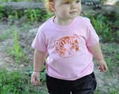 SALE - bubble gum kitty tee - kids size 2
