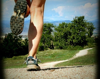landscape photography, fine art nature photography, woman female run legs