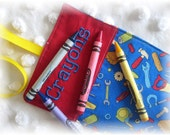 Tool Crayon Wrap Personalized Roll Up Holder Organizer